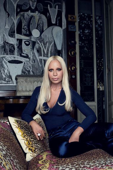 Donatella Versace, Foto: Vogue