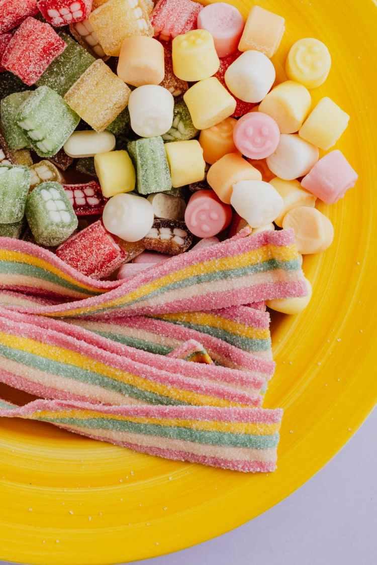 colorful sweet treats