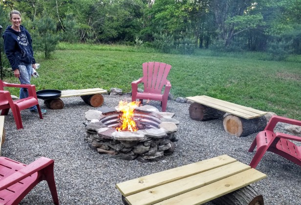 we bought the farm fire-pit