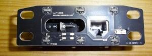Circuit imprimé 3D noir