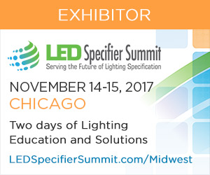 Join WE-EF USA at the LED Specifier Summit in Chicago - Booth #803