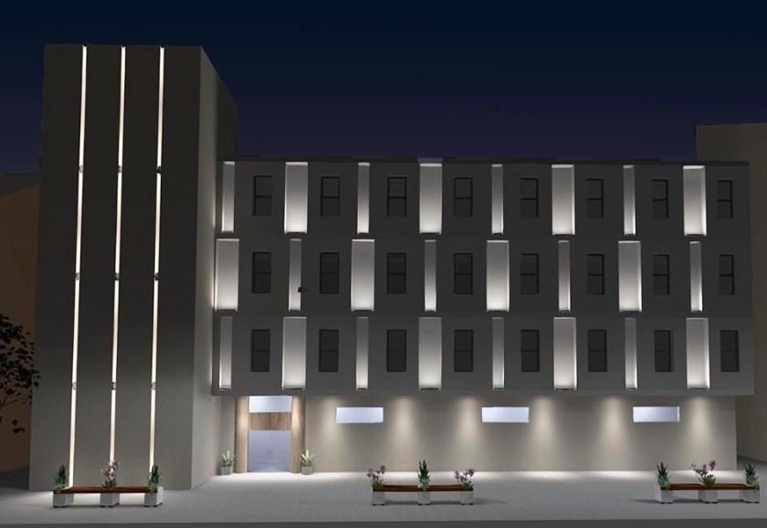 How To Light A Building Facade We Ef Lighting Usa