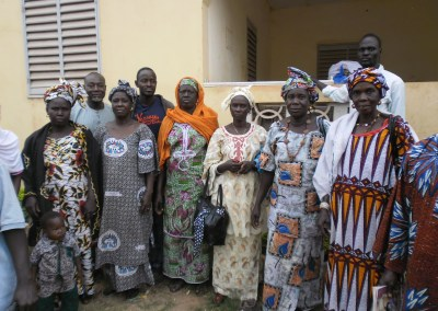 Seed Assistance for women in the district of Sadiola