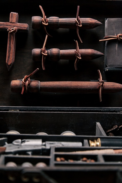 'Vampire Killing Kit' by Clemens Ruthner as part of BLOOD at Science Gallery at Trinity College Dublin 2.jpg