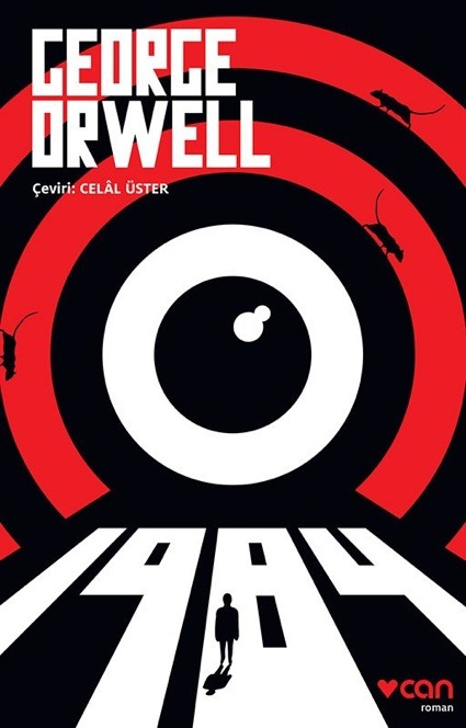 George Orwell 1984 Book Cover Of A Turkish Edition