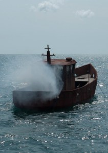 How a decaying boat bought on eBay becomes a new underwater eco-system