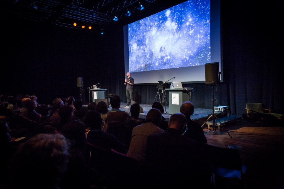 Amsterdam, 22-11-2015, IDFA International Documentary Filmfestival Amsterdam. Doclab Conference in de Brakke Grond. Photo Nichon Glerum
