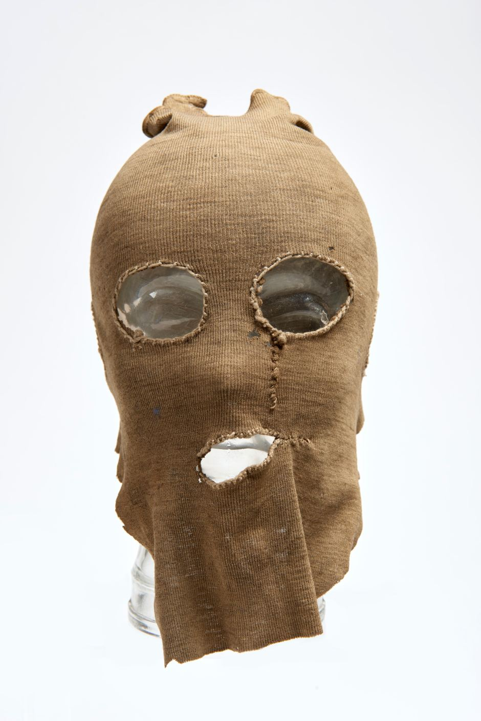 12. Mask from the murder case of PC George Gutteridge by Frederick Browne & William Kennedy, 1927 ∏ Museum of London