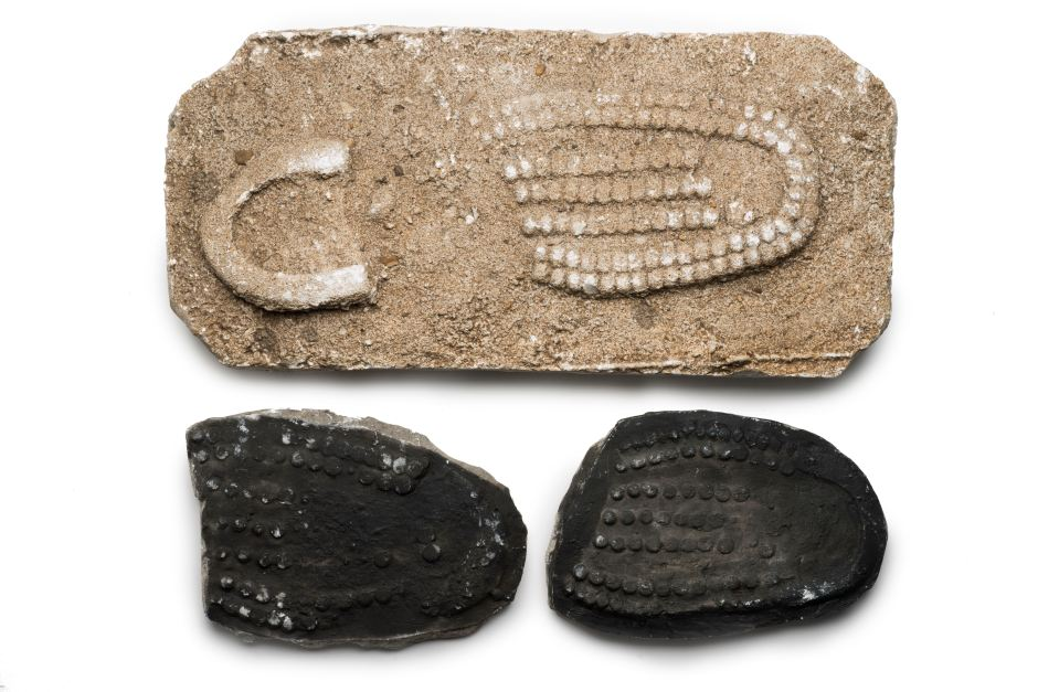 7. Leslie Stone Shoe prints recovered by police from murder scene of Ruby Keen, 1937 ∏ Museum of London