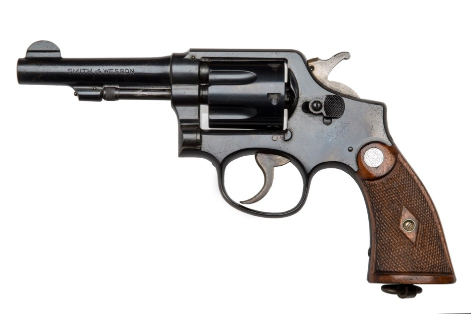 8a. The Smith & Wesson .38 revolver used by Ruth Ellis to murder David Blakely, 1955 ∏ Museum of London