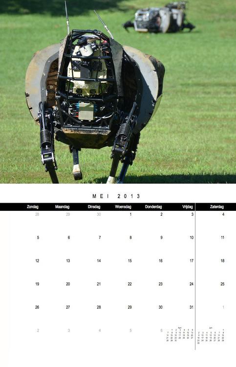Darpa-Calendar
