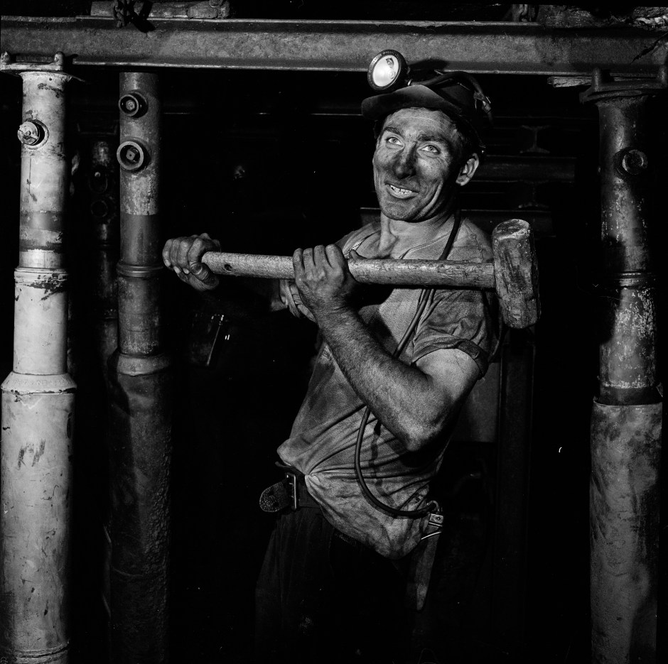 Miner, 1950s. Courtesy of  the National Coal Mining Museum for England