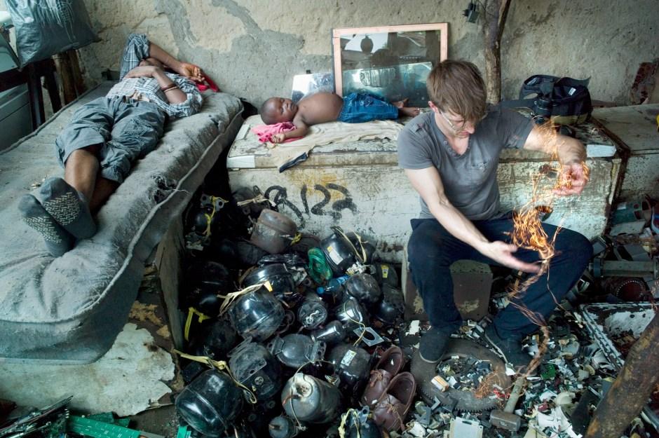 Lagos, E-waste-project, Febr. 2015