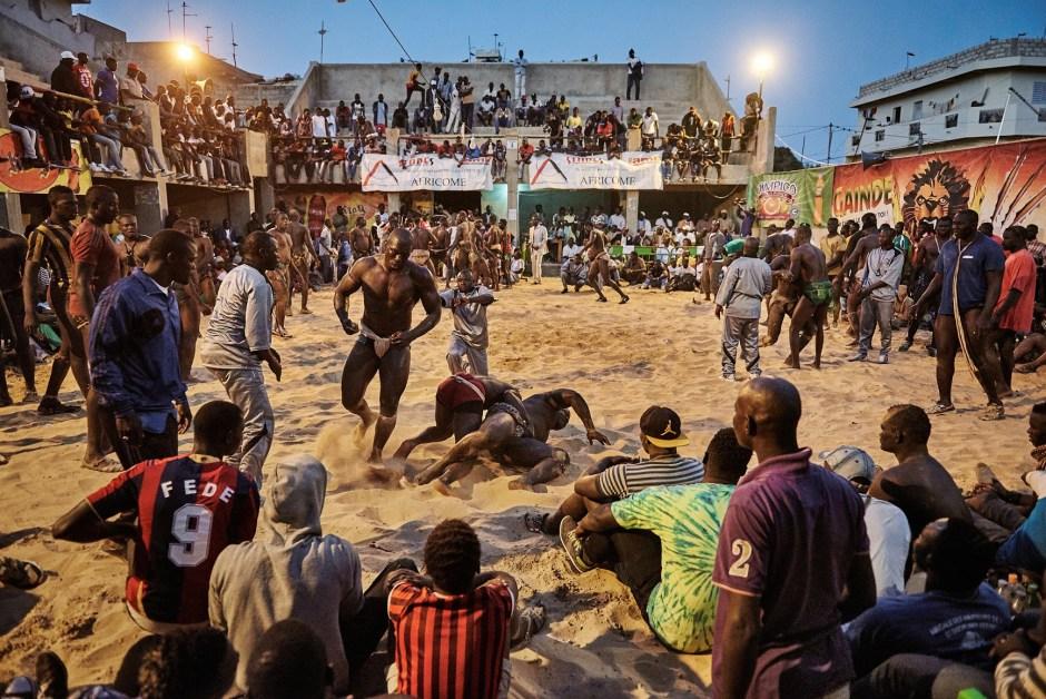 © Christian Bobst - The Gris-gris Wrestlers of Senegal 02