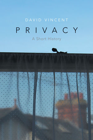 Book review: Privacy. A Short History