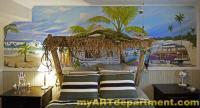 Bedroom Beach Mural - Boy's Room