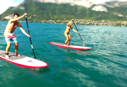 10 raisons de faire du stand up paddle