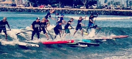 battle of the paddle