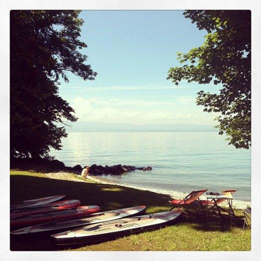 centre de location de stand up paddle à Evian