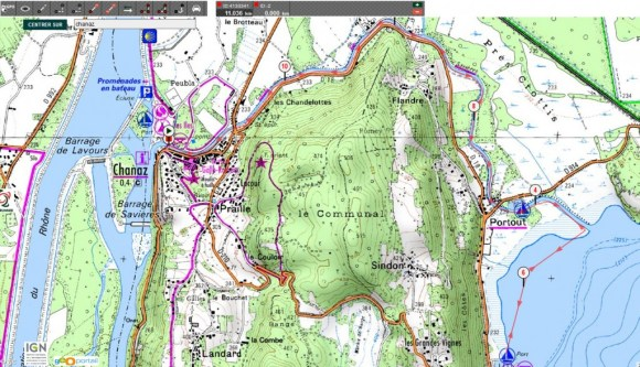 2014-alpinelakestour-saviere-parcours-ign
