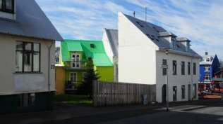 The colorful houses of Reykjavik