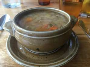 Meat soup at Fakasel