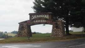 Shenandoah Caverns sign