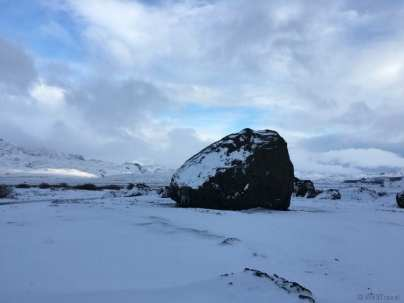 Thorsmark valley in South Iceland