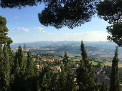 View from Volterra