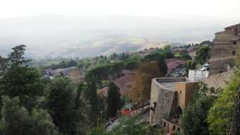 Volterra best Tuscan towns view