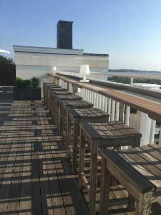 Grace Vanderbilt rooftop bar seating