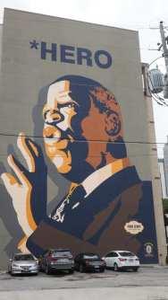 John Lewis mural in Atlanta