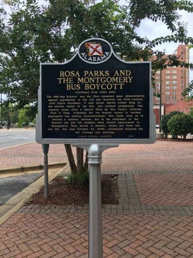 Rosa Parks Montgomery AL