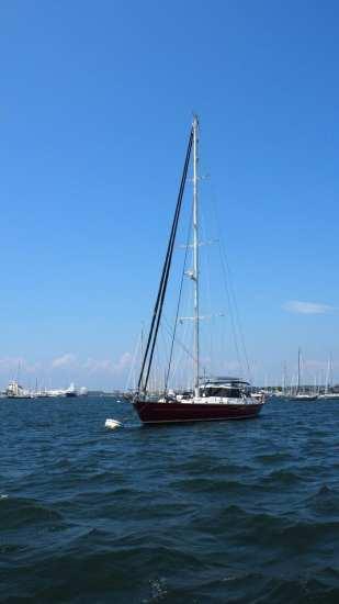 Newport sailboat