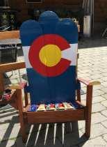 Copper Mountain chair