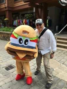 Hamburger guy