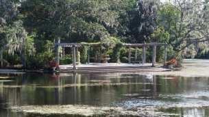 Airlie gardens lagoon