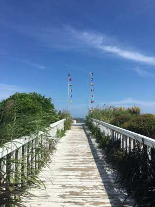 Blockade Runner boardwalk