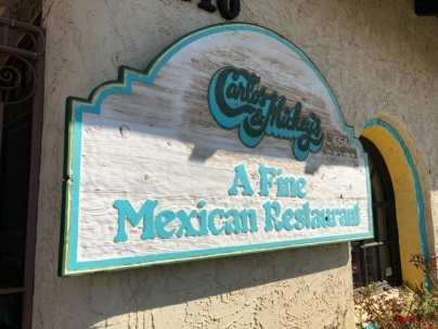 Carlos and Mickey's sign
