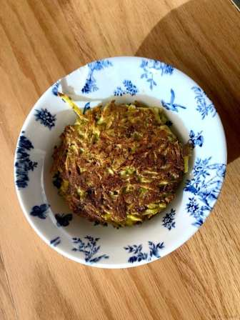 Salt + Honey green chili cheese hash brown