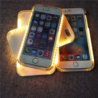 iphone 6 selfie LED case_16