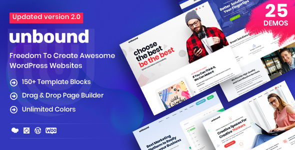 Unbound 2.1.0 - Business Agency Multipurpose Theme