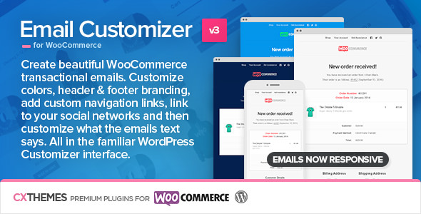 Email Customizer for WooCommerce 3.29