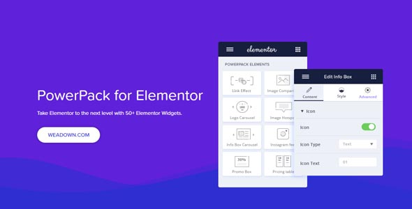 PowerPack For Elements 2.0.1 Nulled – Addons for Elementor