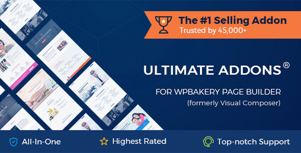 Ultimate Addons for WPBakery Page Builder 3.19.10 Nulled