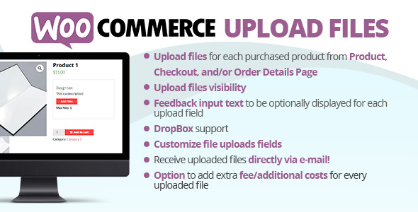 WooCommerce Upload Files 61.6 Nulled