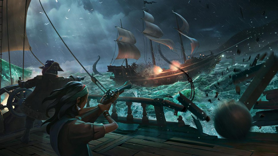 Weak Gaming Sea of Thieves