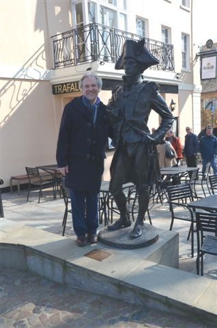 lord nelson and friend