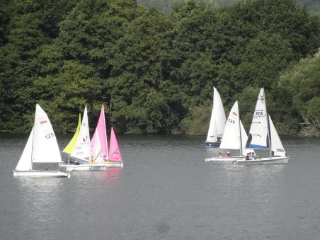 A good fight downwind to Mark D