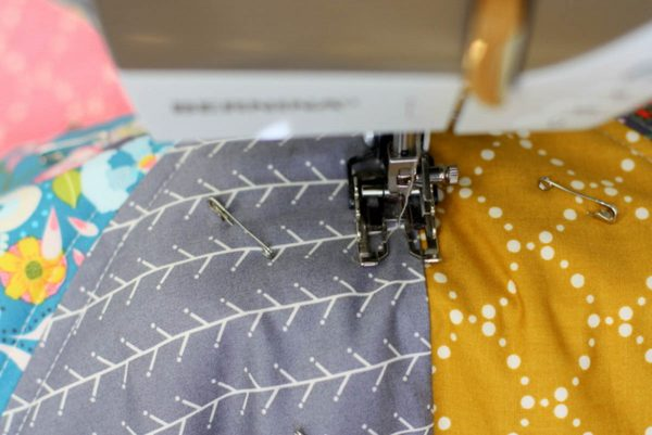 Lone Star Baby Quilt Quilt-Along Part II-quilting